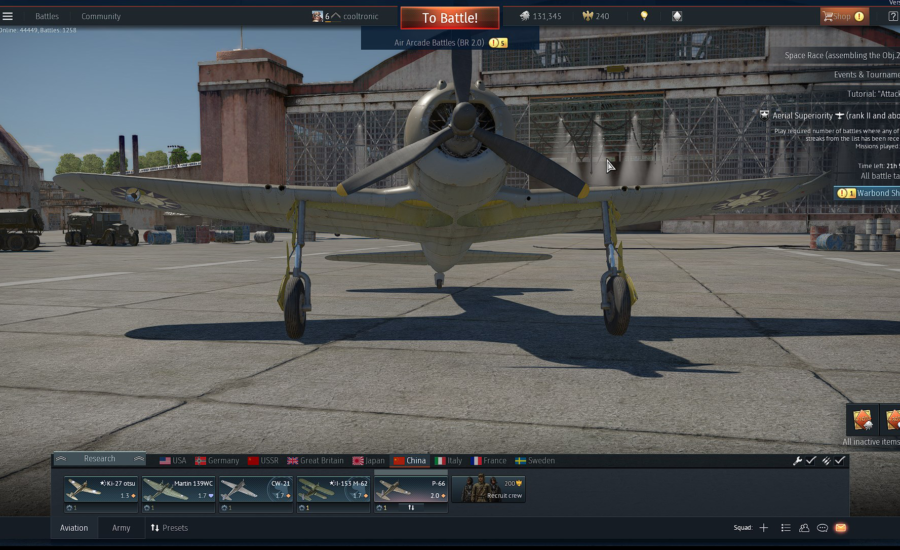 How to move War Thunder on Steam