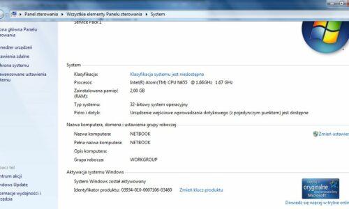Przyśpieszanie starego laptopa z Windows
